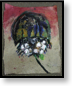 Horseshoe Crab; 2003; oil stick & acrylic; 20